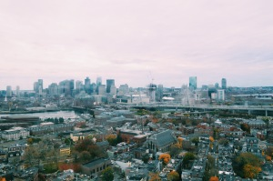 view from the Bunker Hill Monument